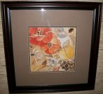 A26-Orange & Yellow Poppies, Framed (1 of 2)