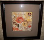 A27-Orange & Yellow Poppies, Framed, (2 of 2)