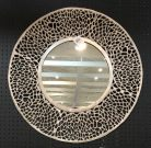 M02-Silver Metal, Web Frame, Mirror