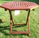 PT09-Red Cedar foldable side table