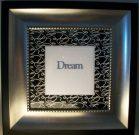"A010-""Dream"" Silver/Black frame"
