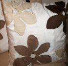 TC11-Toss Cushion, white, taupe & mink