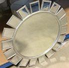 M09-Silver Starburst Mirror, 31.5″
