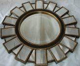 M09-Wooden Starburst Mirror