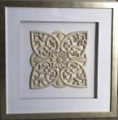 A37-Sq. Framed Medallion, 1 of 2