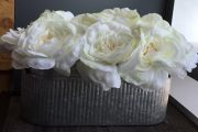 PL36-Rose Blooms in corrugated metal box
