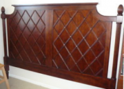 BM04-King Headboard, Wooden