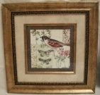 A48-Bird, Antique finish frame, 2 of 2