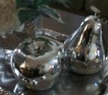 Apple & Pear set, Silver-Acc005