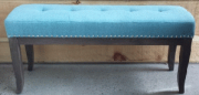 OB04-Bench, Aqua, Slender, Tufted