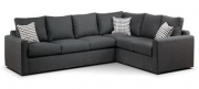 SF07-Sectional Sofa, Charcoal LRG