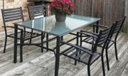 PT14-Patio Table Set w/4 chairs