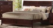 BM05-Queen Bed Set, Wood Panel