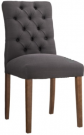 DC23-Charcoal, Tufted Parsons Chairs