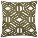 TC48-Mossy Green, Hexagon Pattern