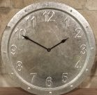 Clock, Wall Metal Industrial-Acc474
