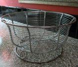 Kitchen, Basket, Chrome Wire-Acc032