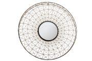 M31-Mirror, Round, Metal & Twine