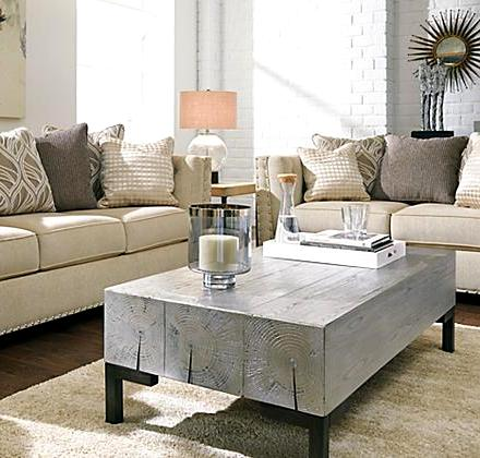 ot52-timber wood coffee table, silver finish – the rental dept