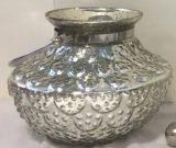 Vase, Mercury Glass w/handle-Acc9922