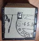 Box Burlap & Leather-Acc9927