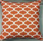 TC35d-Orange & White, Trellis