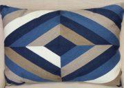 TC92e-Embroidered Blue/Taupe/Cream