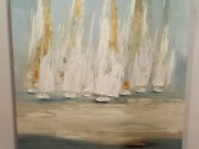 A142-Regatta Abstract, Canvas, LRG