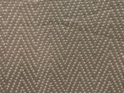 TH31-Taupe & White, Chevron Pattern