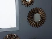 M35-Antique Copper, Mini mirrors, set of 3