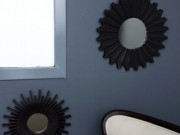 M35a-Dark Bronze, Mini mirrors, set of 3