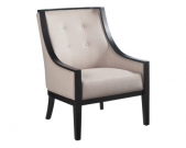 LC15-Cyrano Armchair, Neutral Linen