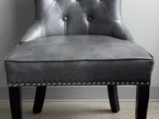 LC34a-Grey Leather, Hourglass