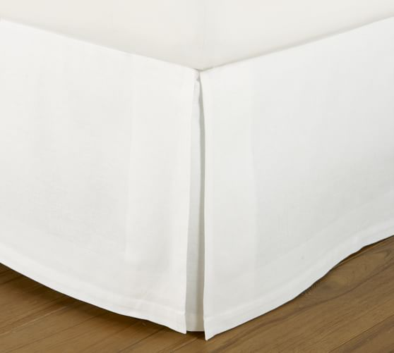 Bq55b T Bed Skirt White Or Black The Rental Dept