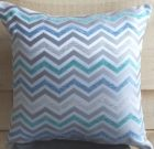 TC79-Chevron, Silver/Teal/Blue