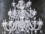 A123a-Chandelier Canvas, Vertical, LRG