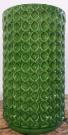 OB21-Ottoman, Green Circles, Ceramic