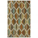AR06-Area Rug Ornamental Ogee, 5X8