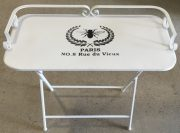 OT41a-Paris Market, Metal Tray Table