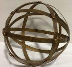 Decorative Sphere, Antique Gold-Acc150a
