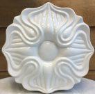 Vase, White, Flower Design-Acc053