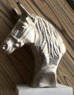 Decorative Horse Head, Silver-Acc104