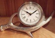 Clock, Silver Antler MED-Acc103