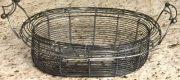 Kitchen, Basket, Grey Wire-Acc076