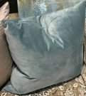 TC81d-Velvet, Bluish Green Toss Cushion