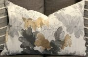 TC104d-Greys & Golds, Abstract Floral