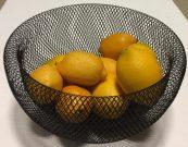 Kitchen, Black Wire Bowl – Acc501