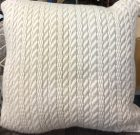TC006-White Woven Wool, Textured