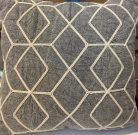 TC005b-Grey, Rope diamond pattern