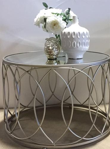 Ot05a Deco Silver Finish W Mirror The Rental Dept